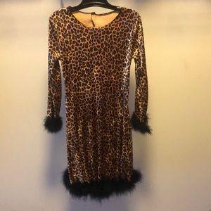 Leopard dress, Halloween